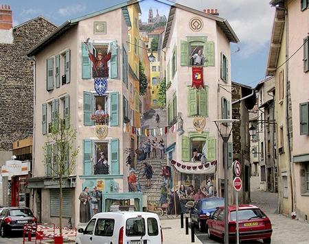 【非常分享】25款街头中的涂鸦,以假乱真