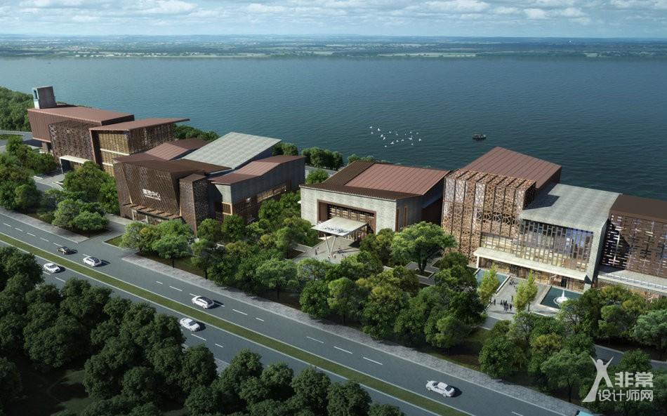 文华东方设计事务所最新力作:滨江公园(南水北调)总部设计