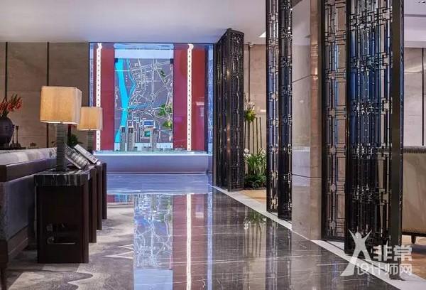 新中式主义:南京蓝光公园售楼处室内设计