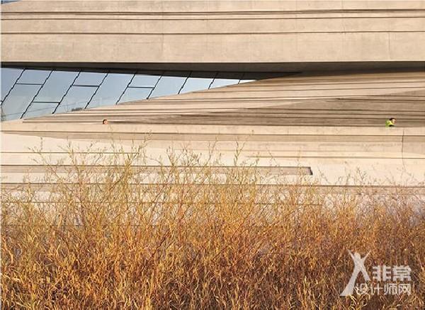 兰州市城市规划展览馆——建筑饰面