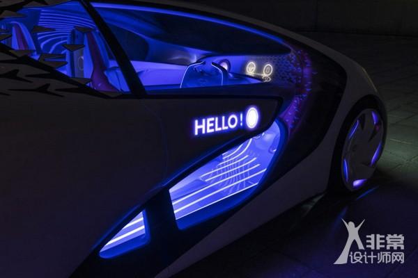 丰田concept-i一个愿意成为你朋友的智能汽车