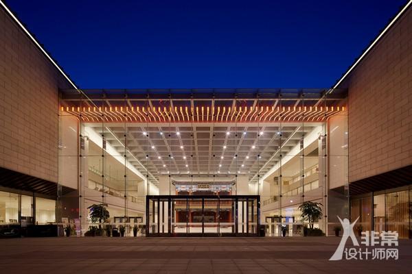 北京天桥艺术中心建筑景观