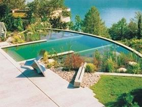 设计教育:天然游泳池的制作工艺