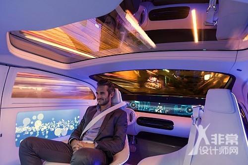无人驾驶概念车F 015 Luxury in Motion