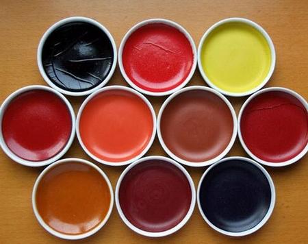 【设计教育】教你如何分辨水墨画颜料