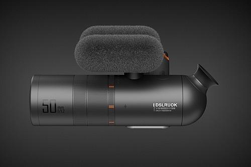 新型单反相机设计