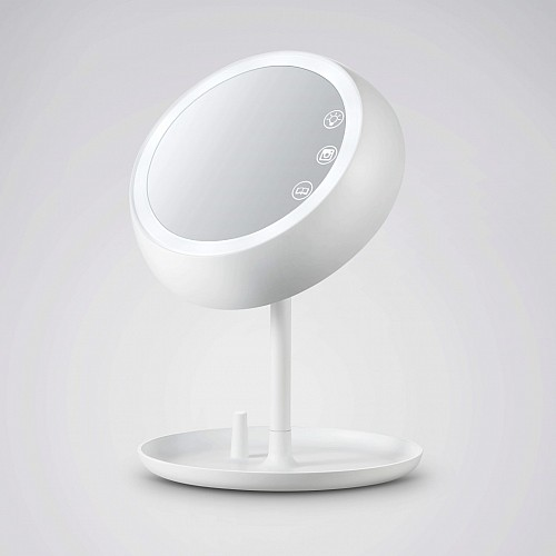 自带柔光灯的多功能智能魔镜
