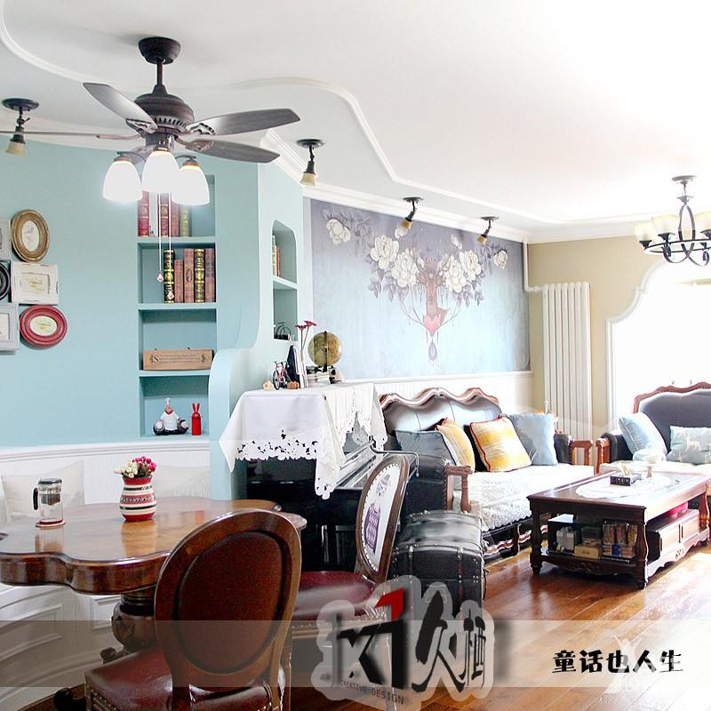 BTV《超强设计》栏目作品 北京天通苑美式混搭风格《童话也人生》