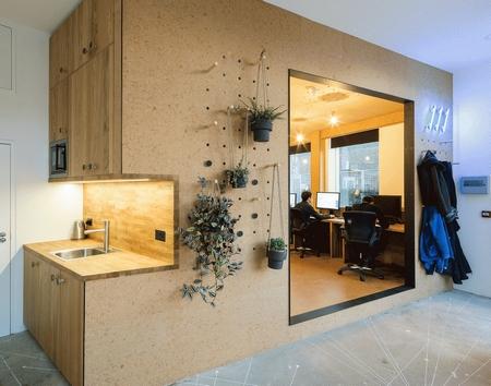 一个独立的软木空间,满足全部办公需求