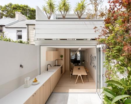 花园中的厨房,与自然亲近接触