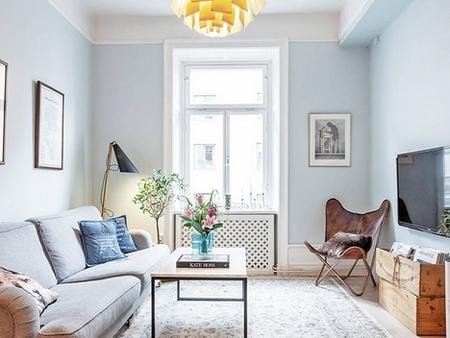 瑞典60㎡清新公寓设计