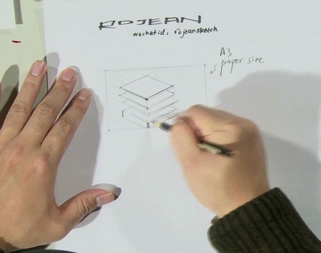 """手绘方法之""""线条比例"""""""