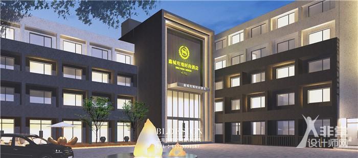 上海勃朗酒店设计顾问公司-湖北2000平酒店升级改造设计案例