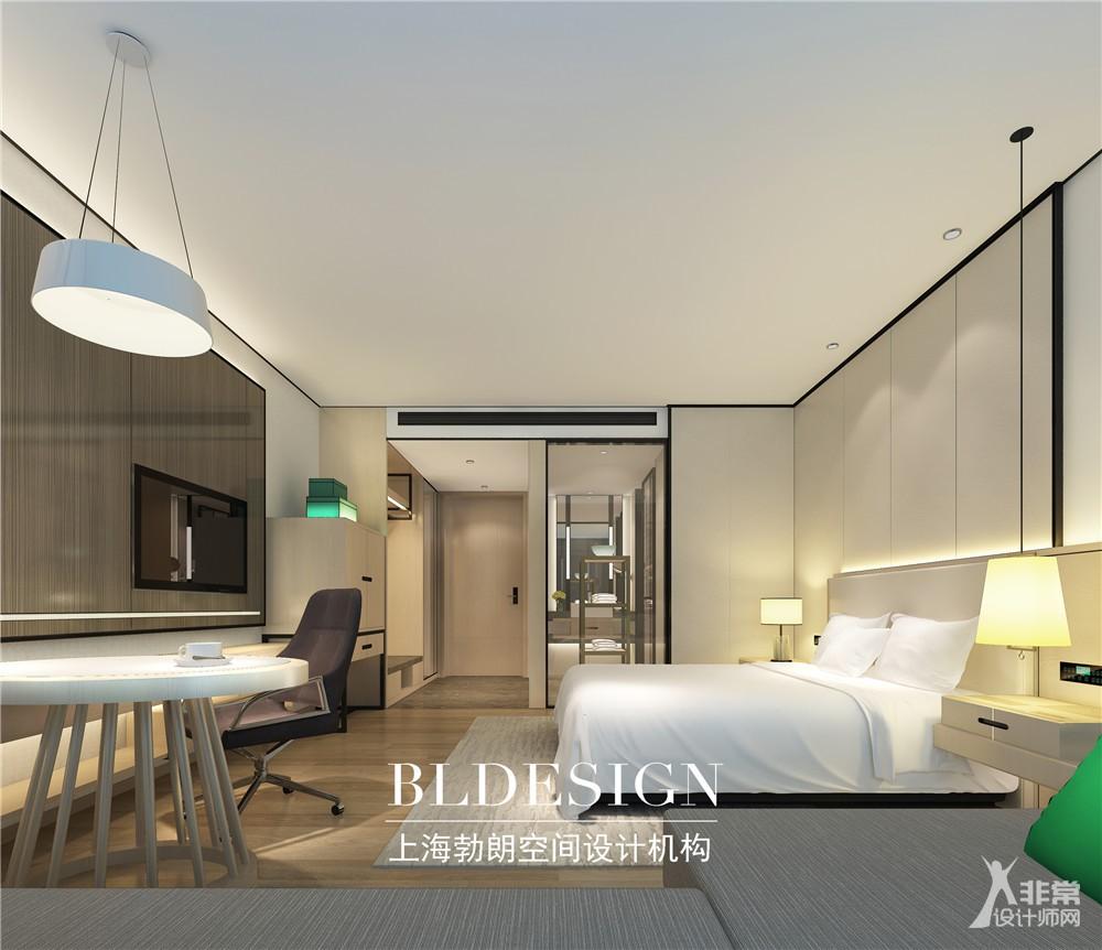 郑州铭汇文华五星级酒店客房样板间设计方案