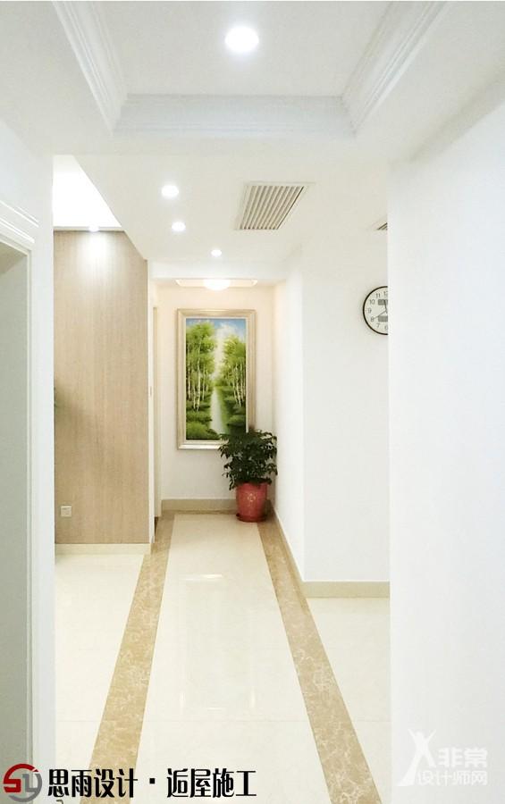 【北京思雨设计&扬州逅屋施工】《简约生活》128平3居现代风格装修实景案例