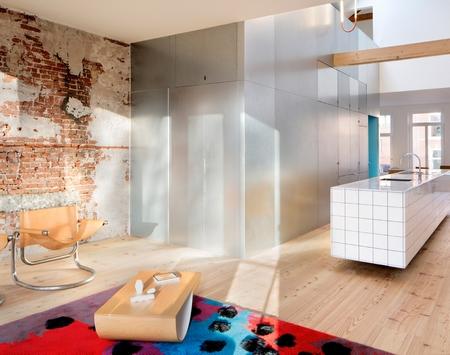 【旧房改造】裸露砖墙的大空间典范