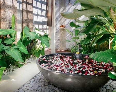 巴厘岛的酒店让你知道什么是天堂