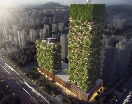 这个建筑师希望树木覆盖整个城市