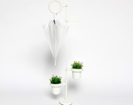 让你的雨伞为你的植物提供水分