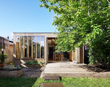 """用一个""""木箱""""为让建筑有了延伸性"""