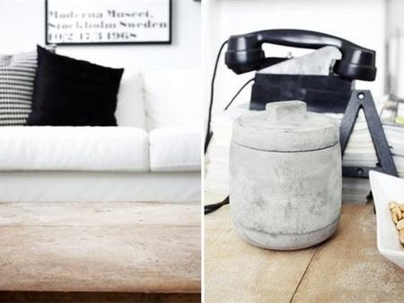 经典黑白搭配 北欧简约风格设计