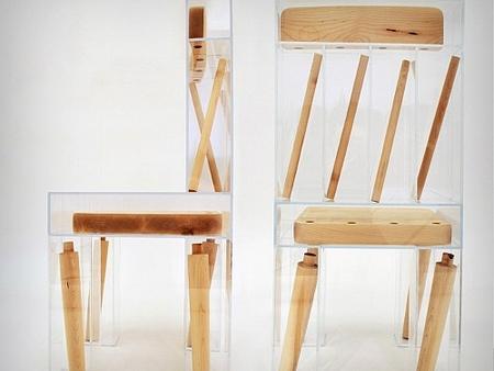 拆开的椅子设计你敢坐吗?