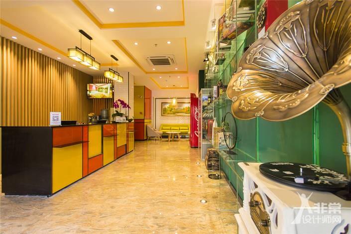 郑州青枫白露酒店设计全套方案-郑州酒店设计公司哪家专业?