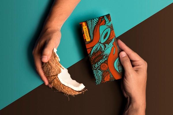 秘鲁巧克力品牌Candela包装设计