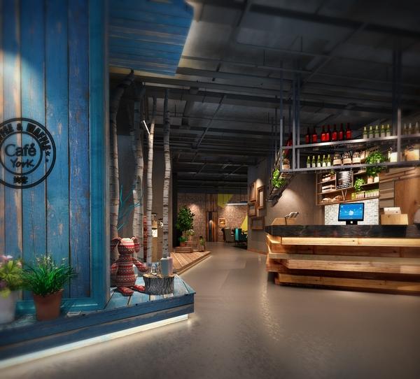 归本主义---一道别致的风景,约克音乐西餐厅设计方案