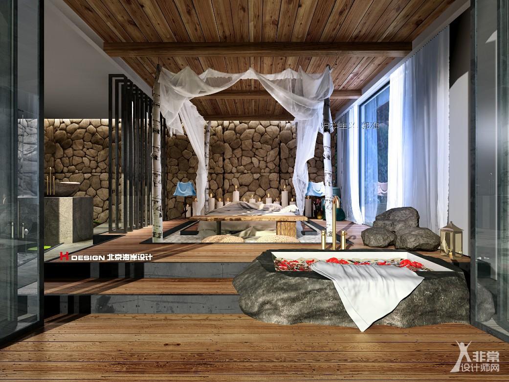 项目名称:六度别院 项目地址:云南西双版纳 项目类型:室内外建筑 使用面积:1000 主创团队:北京海岸设计 总设计师:郭准先生 设计风格:归本主义 民宿设计 不只是设计一幢房子 而是设计一种有态度的生活方式 我们看厌了现在所拥有的 我们所梦寐以求的 无非是一种与众不同的心灵栖息地 本项目位于西双版纳告庄西双景,坐拥360的自然美景,项目改造之前,保留了原本的一些自然树木。郭准先生想用这种低调的建筑表现方式,把自然与家结合起来。有时候,来这里住的人一整天都会呆在房间里,不想出门。呆多久都不会觉得闷,精致