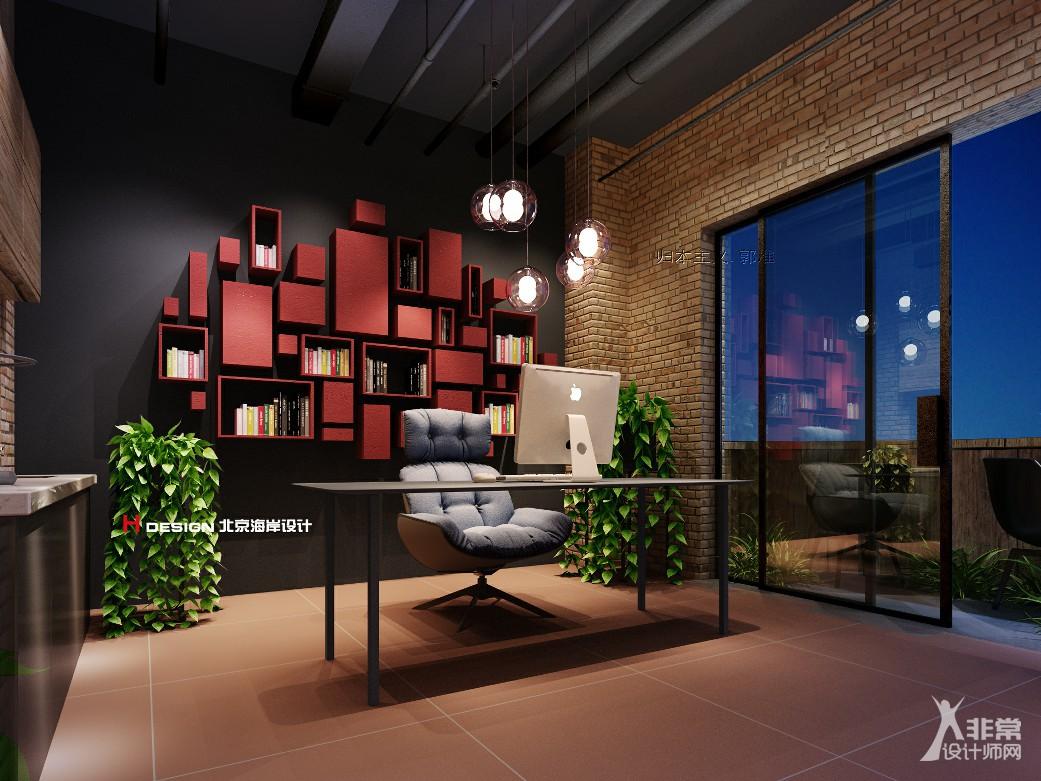 办公室设计,上海DOINGFILMS影视办公设计方案