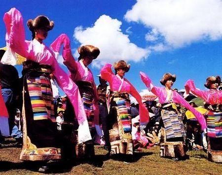 藏族舞——锅庄