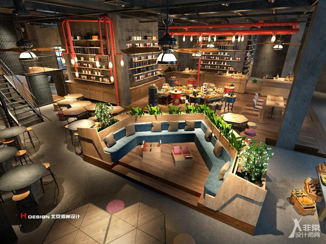 知名咖啡馆设计,青岛红树林咖啡 1857㎡