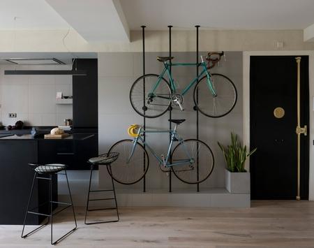 巴塞罗那的自行车公寓