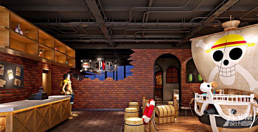成都主题餐厅装修设计《海盗主题餐吧》成都餐厅装修公司|成都餐厅设计公司