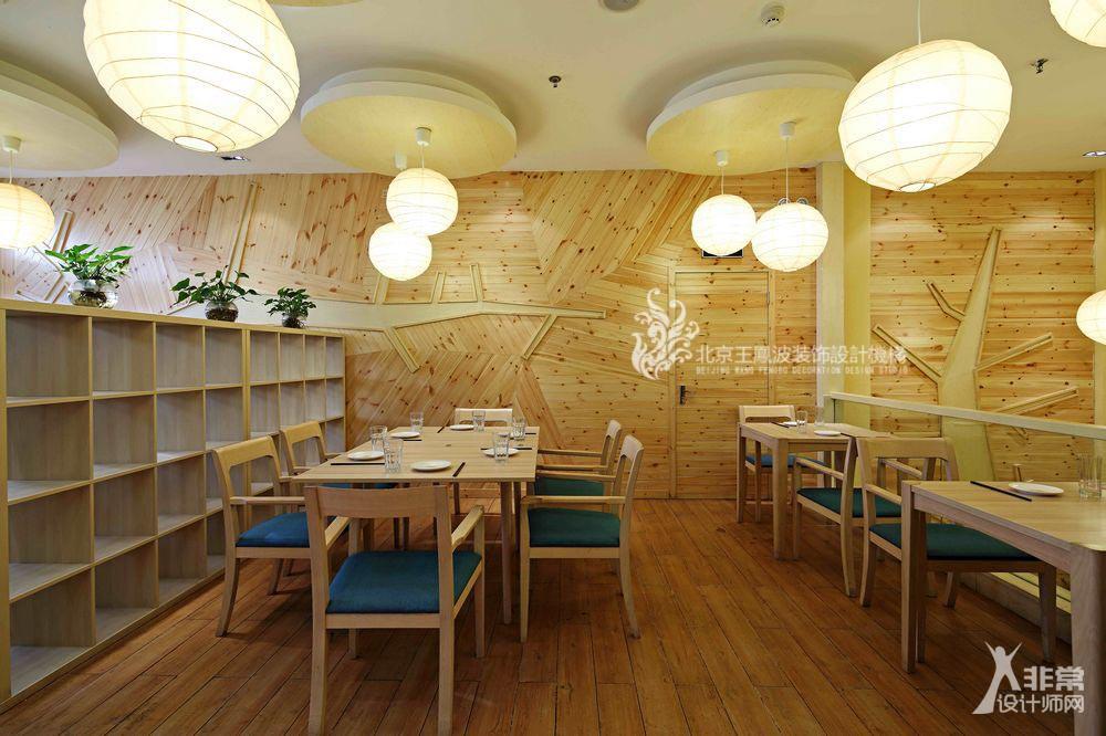 白云下快餐厅装修设计