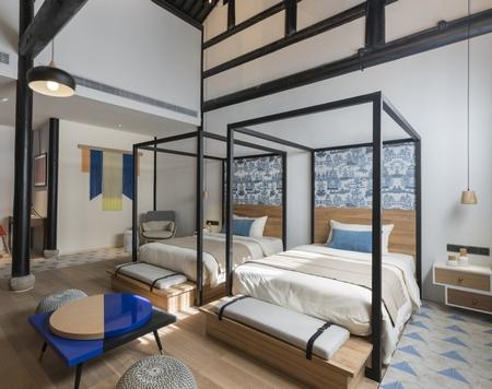 一切只为安静,南浔梅花山酒店设计