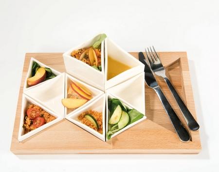 用模块化设计带来享用食物的新体验