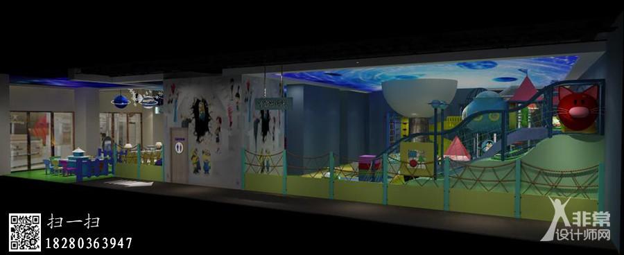 成都婴幼儿游泳馆装修设计|成都儿童游泳馆装修设计公司《亲子游泳馆》