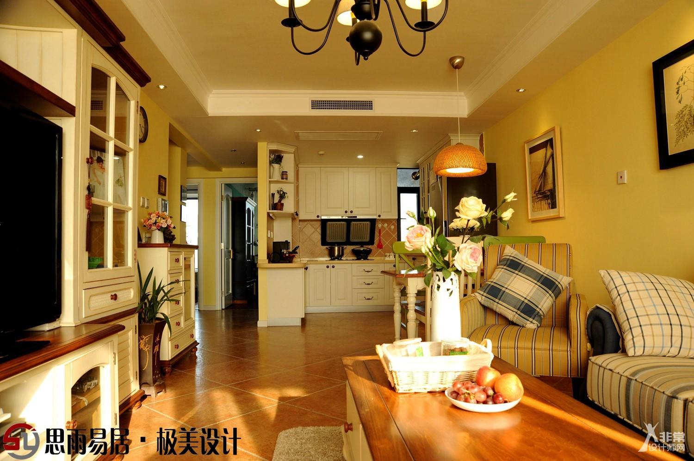 《我的艺术家》110平方米3居室设计案例-北京二手老旧房装修