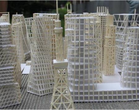 """用""""游戏""""的方式对应概念理解 ——""""面条建筑"""""""