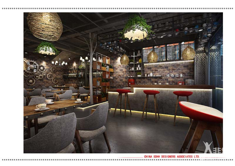 南宁主题餐厅设计 南城故事