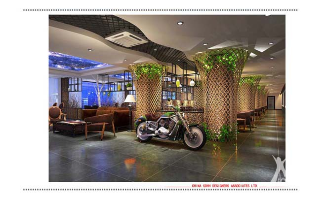 南宁咖啡吧设计 金凯甲咖啡厅