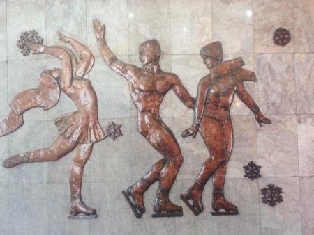 大型鍛铜浮雕《北大荒颂》