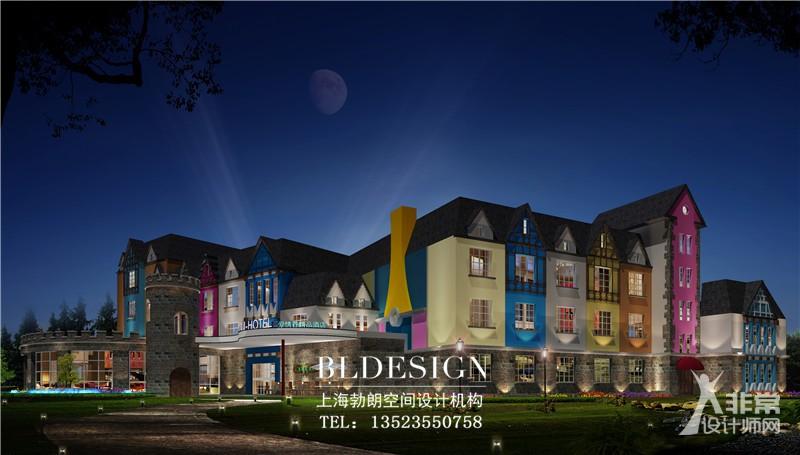 郑州主题酒店设计公司分享梦幻时尚的U 主题就设计案例