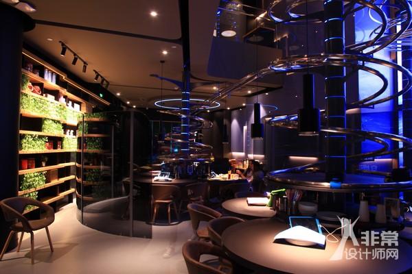失重餐厅(北京)/ 白立方体WCA设计