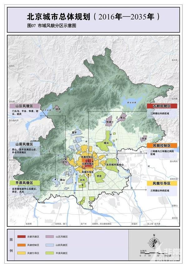北京城市总体规划