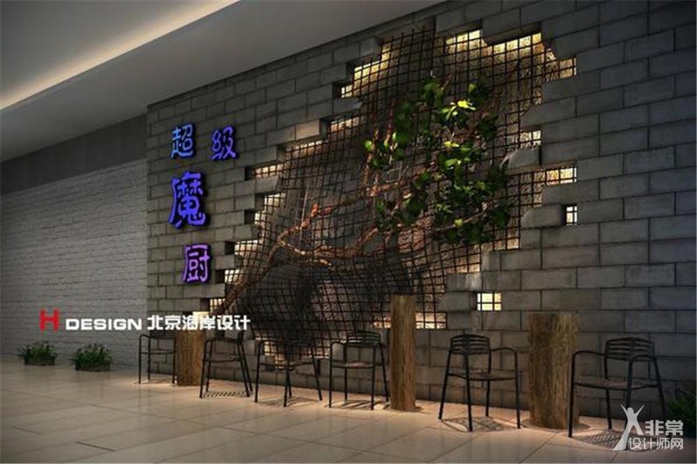 广东揭阳盛味堂烧烤店餐饮设计案例