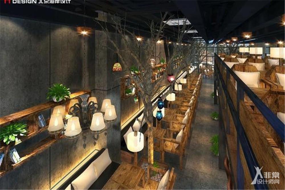 北京漫咖啡健德门店咖啡餐饮设计案例