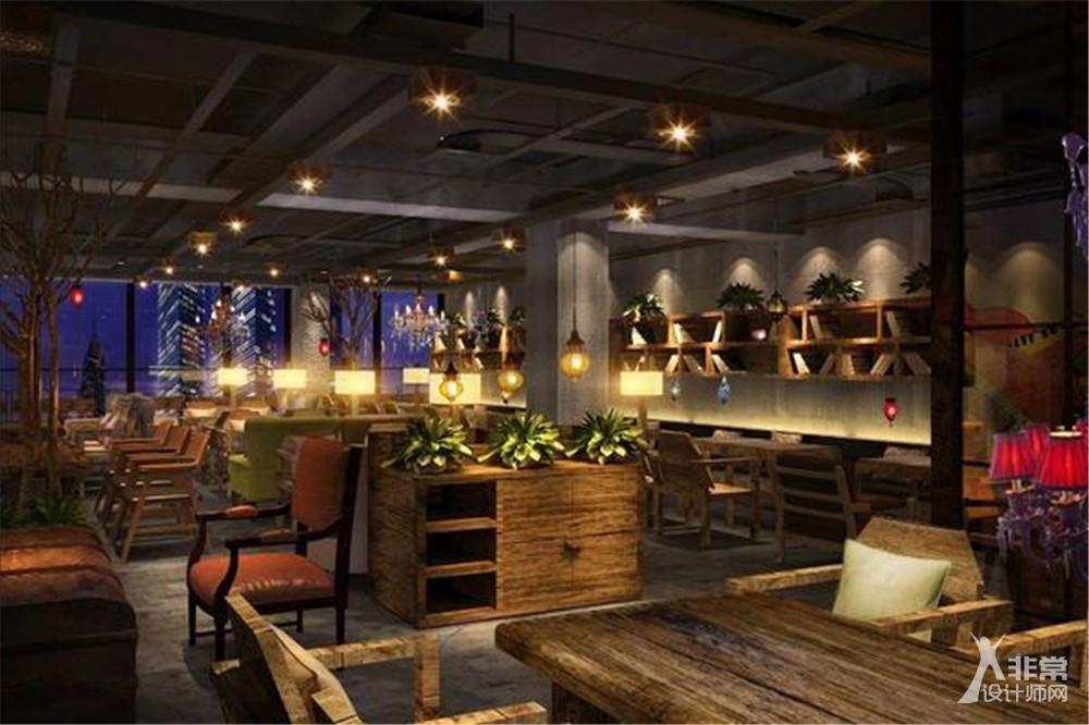 北京漫咖啡朝阳门店咖啡餐饮设计
